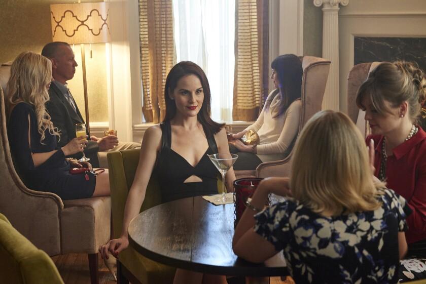 """Michelle Dockery as Letty in """"Good Behavior."""""""
