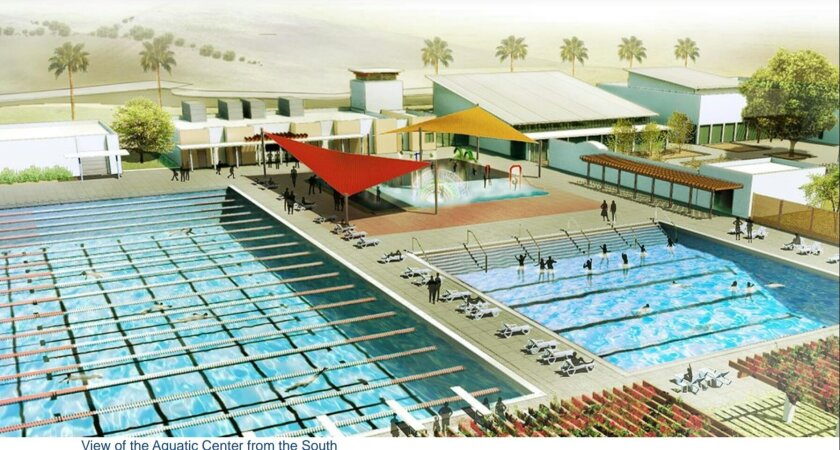 Proposed El Corazon Aquatic Center