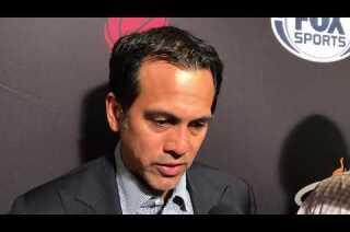 Erik Spoelstra on Heat loss in Philadelphia