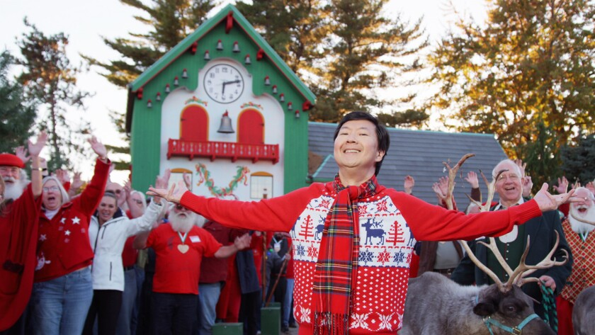 """""""Community's"""" Ken Jeong celebrates his love of the holidays in the new online special """"Ken Jeong Cracks Christmas."""""""