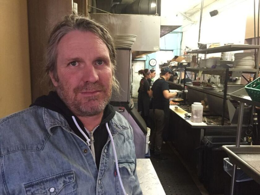 Daniel Landes is trying to figure out how marijuana laws will affect his popular City O' City restaurant in Denver.
