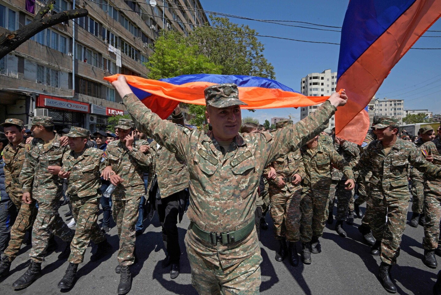 Armenia's prime minister resigns