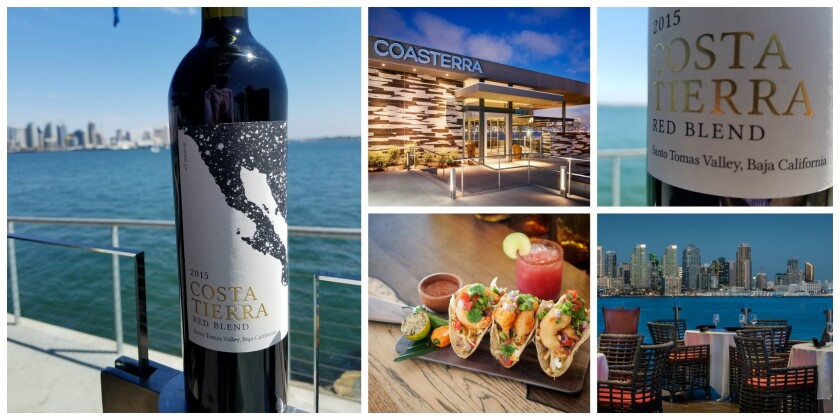 The Cohn Restaurant Group has been ahead of the curve in serving the food-friendly wines from Baja. Now, they've created their own blend, Costa Tierra, which is available at Coasterra, on Harbor Island, and other Cohn eateries.