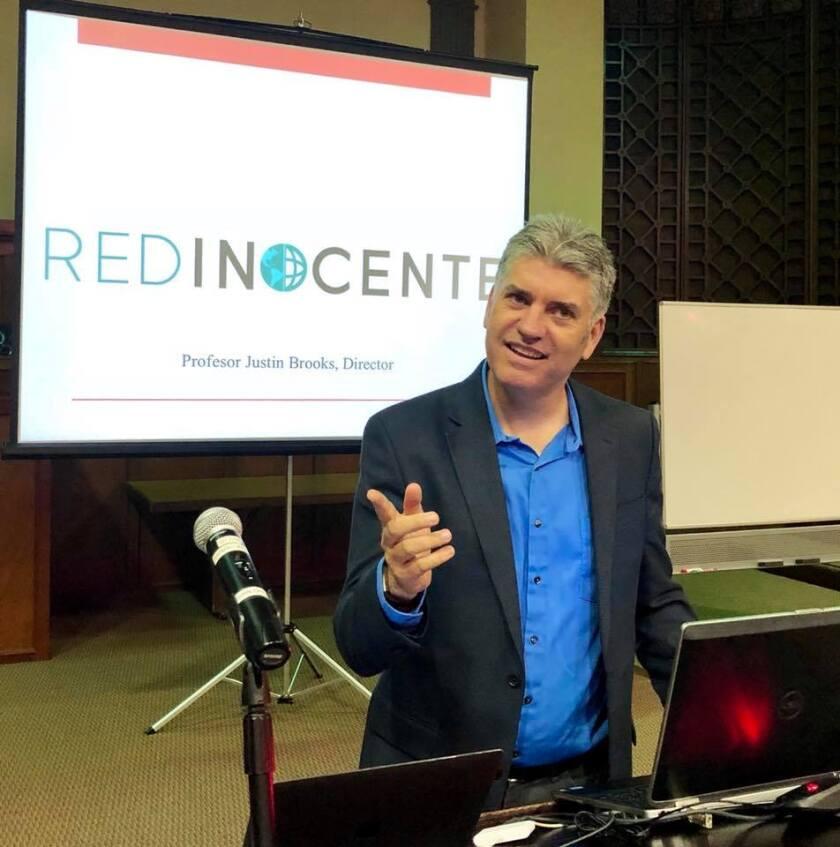 Justin Brooks, director de RED Inocente