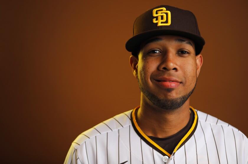 San Diego Padres pitcher Anderson Espinoza.