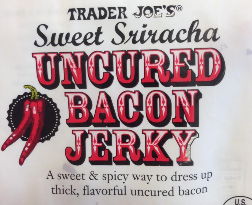 Trader Joe's is selling Sriracha bacon jerky.