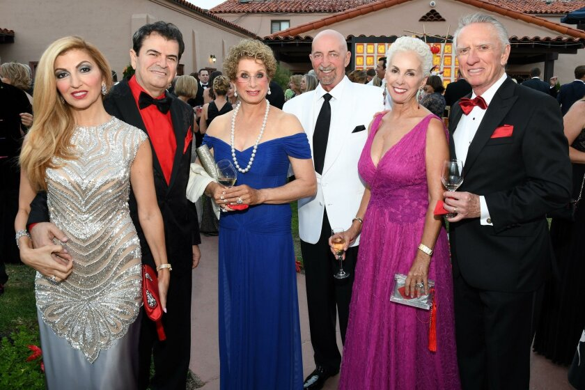 Abeer and George Hage, Susan Drescher-Mulzet and Mark Mulzet, Mary and Hudson Drake