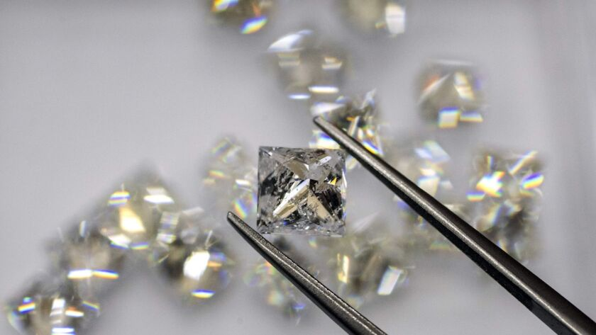 Some diamonds (like these) are for people who like bling, but others are for scientists who want to know more about the Earth's interior.