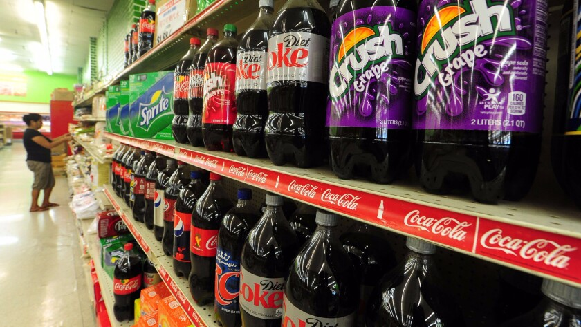 After Berkeley instituted a penny-per-ounce tax on sugar-sweetened beverages, consumption of the high-calorie drinks fell by 21% in the city's low-income neighborhoods.