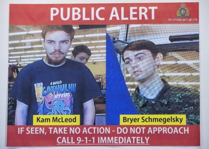 Kam McLeod and Bryer Schmegelsky