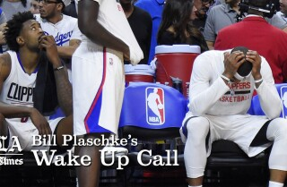 Bill Plaschke's Wakeup Call: The Clippers going one way, the Warriors the other