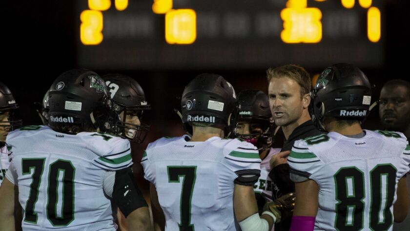 Hilltop won its second straight Metro South Bay League title under coach Drew Westling (shown during an earlier game).