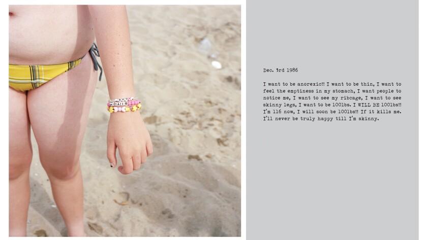 """""""Bitch, Huntington Beach, California,"""" 2014, by Deanna Templeton."""
