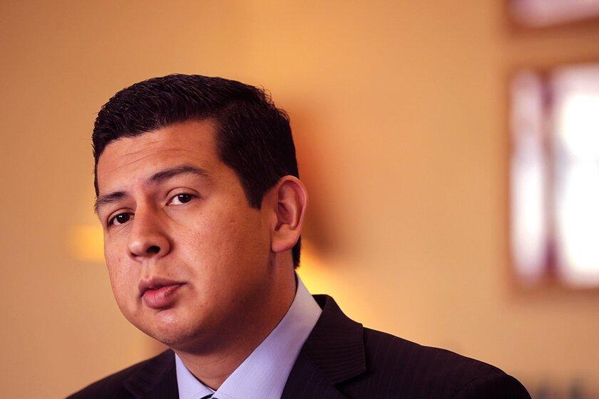 David Alvarez, candidate for mayor of San Diego.