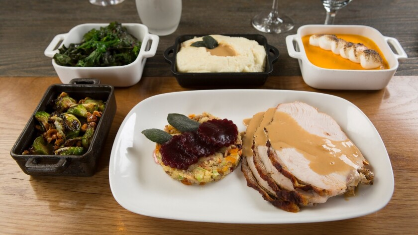 La Cave may not be one of Steve Wynn's most formal dining spots, but turkey for just $21 is still a bargain. But beware: Some side dishes cost extra.