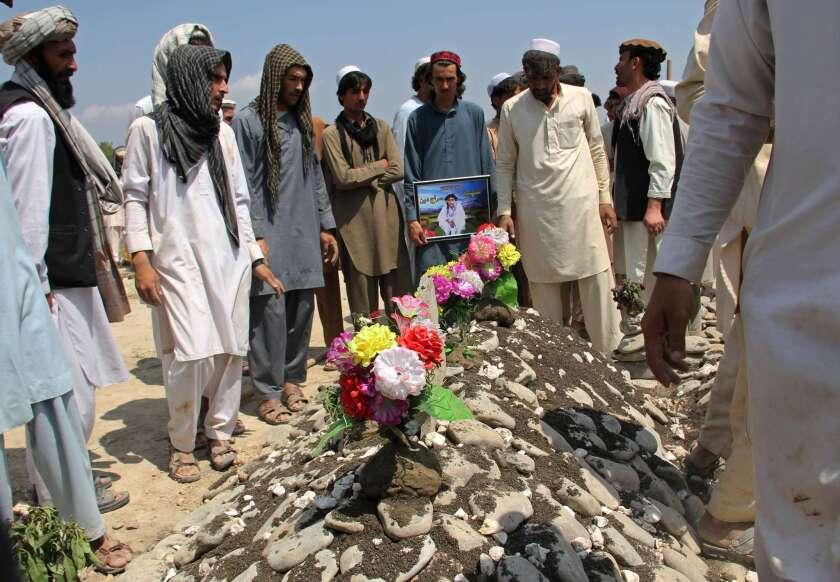 Afghanistan funeral