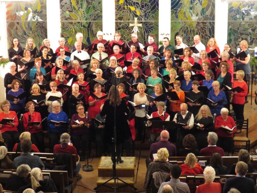 The Peninsula Singers community choir welcomes singers with all levels of experience to join for the spring season, which began Jan. 13.
