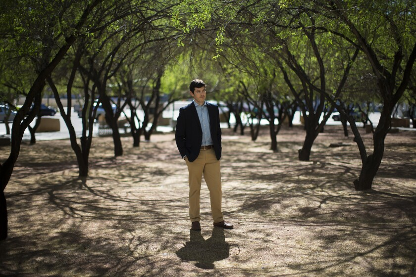 Nick Roosevelt is employed by AmeriCorps and works in Phoenix on a grant from Cities of Service.