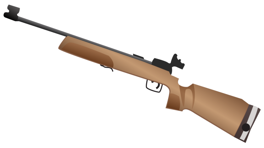 An approximation of what the rifle emoji was originally supposed to look like.