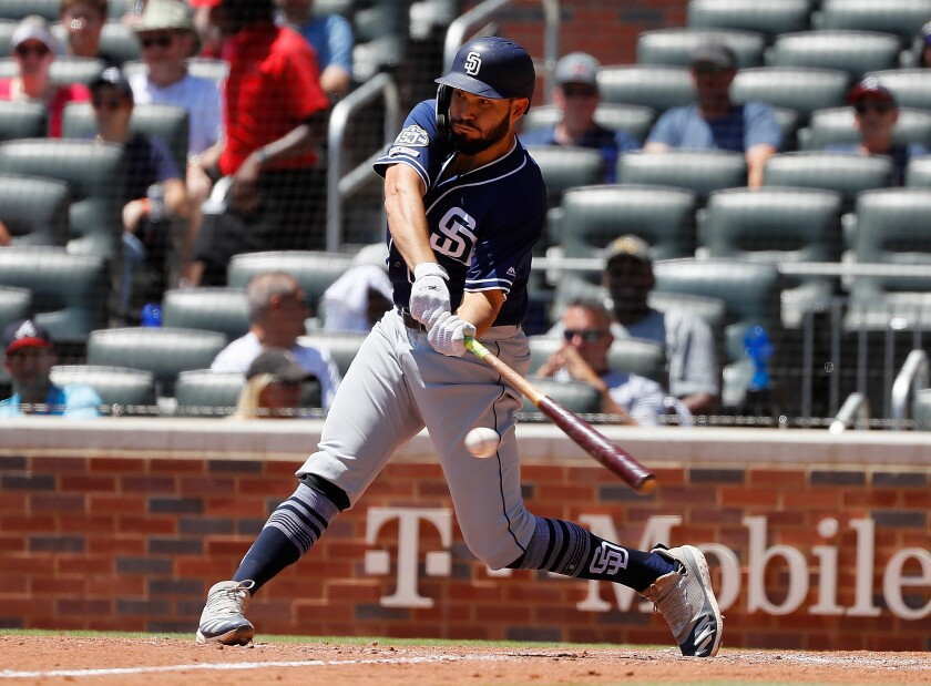 Eric Hosmer has raised his OPS from .585 to .767 over the past 10 games.
