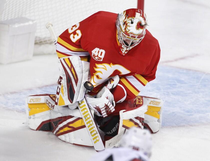 Senators Flames Hockey