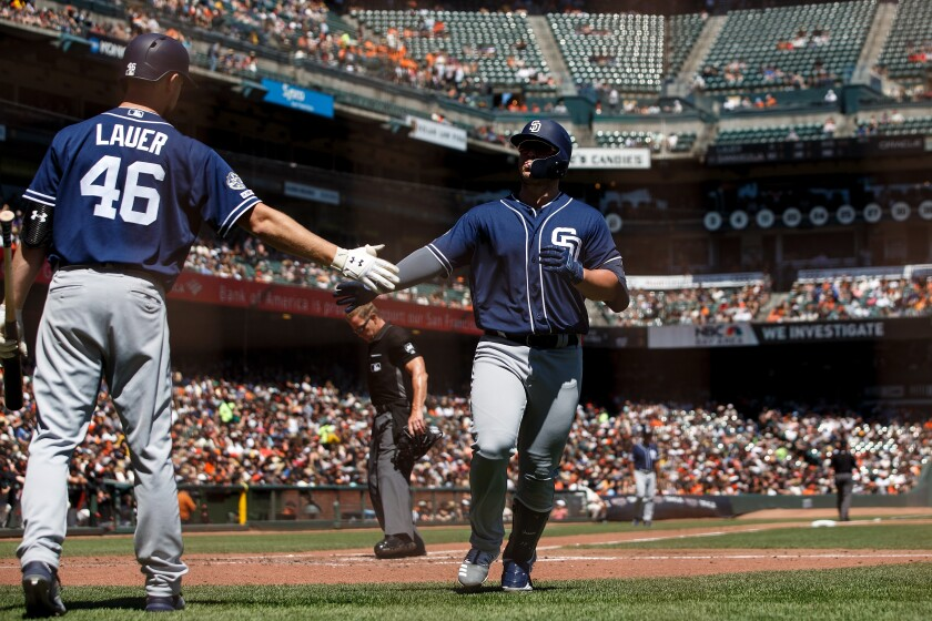 Padres enjoy their Sunday, as Ty France's two homers lift