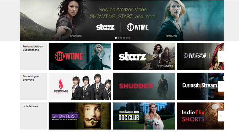 Amazon brings Starz, Showtime, AMC to Prime members - Los
