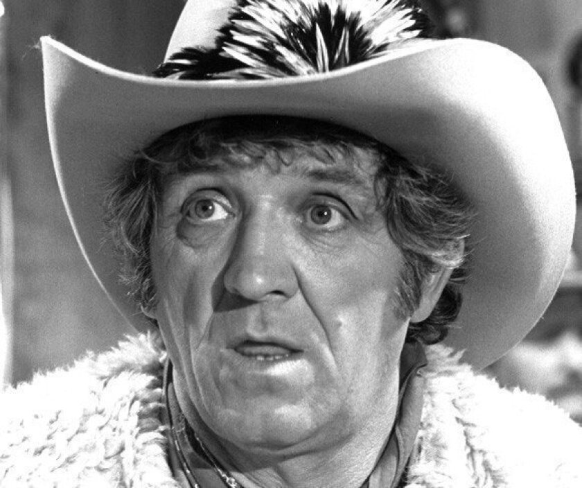 """George Lindsey, shown in 1982, first appeared on the """"Andy Griffith Show"""" in 1964. After Griffith left the series in 1968, Lindsey continued to play Goober on the sequel series, """"Mayberry R.F.D."""""""