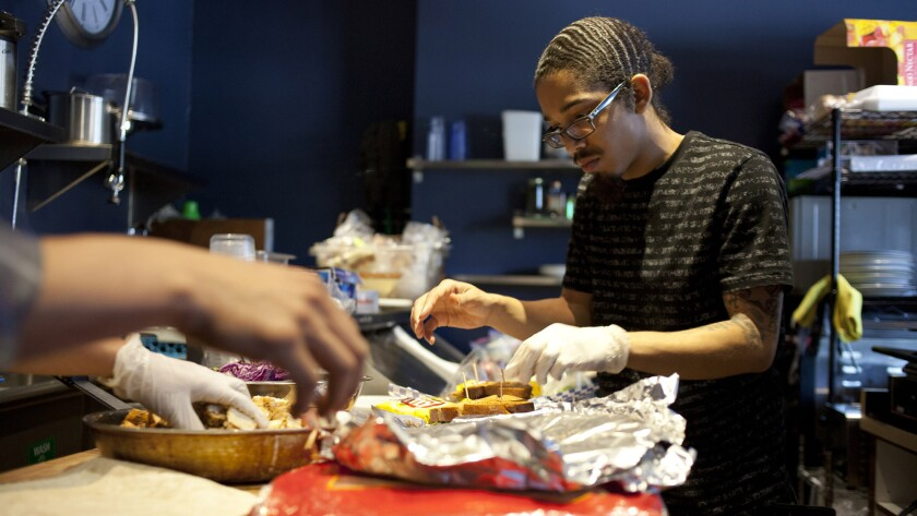 Food servers, who earn relatively little, will see strong job growth through 2020.