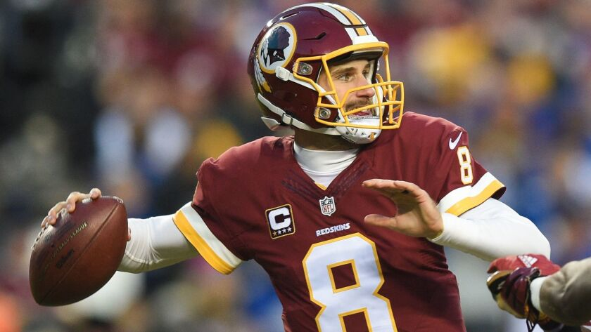 buy online 16c20 303f9 Redskins president sounds like he's referring to Kirk ...