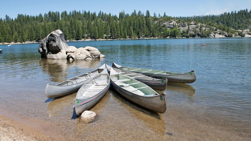 Pinecrest Lake in Stanislaus National Forest, California. Credit: Lee Foster / Getty Images / Dorlin