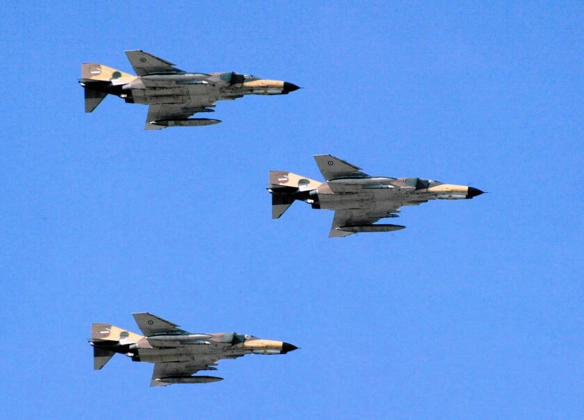 Iran's F-4 Phantom jets