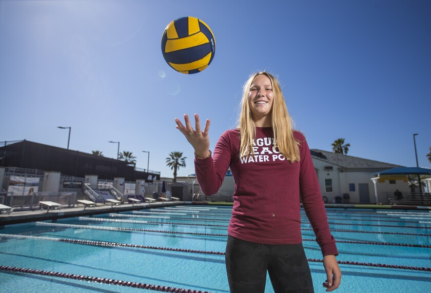 Nicole Struss was the CIF Southern Section Division 1 Player of the Year after helping Laguna Beach earn its second straight Division 1 crown.