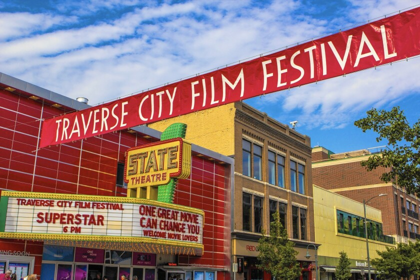The Traverse City Film Festival has been an annual event in Michigan for 12 years.