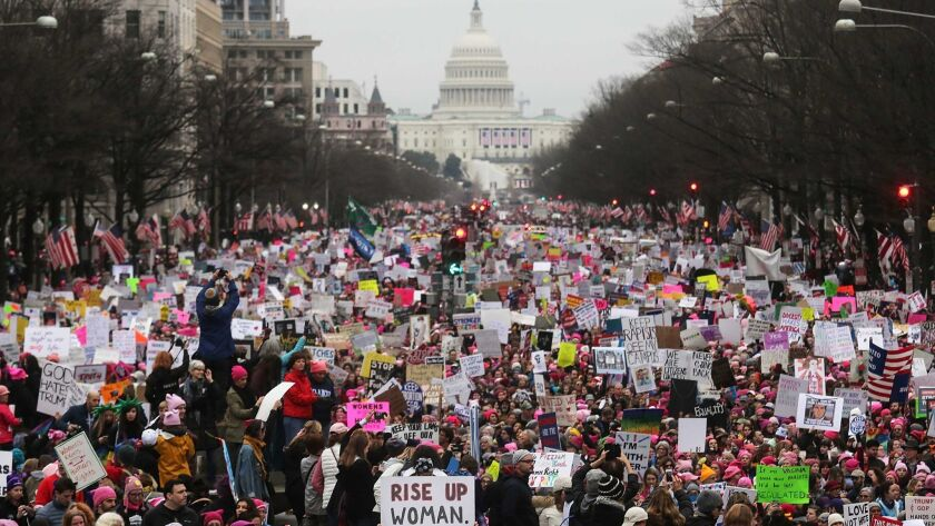 Best of Year 2017: Thousands Attend Women's March On Washington
