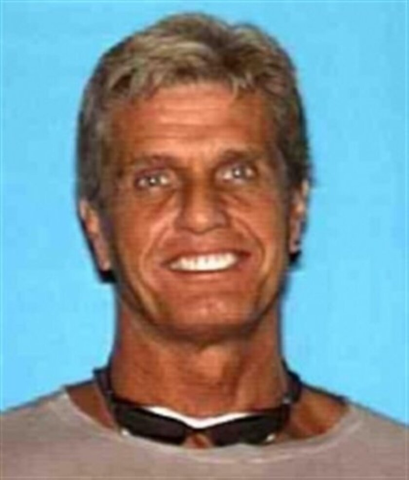This photo released by the Los Angeles County Sheriff's Department shows missing 20th Century Fox executive Gavin Smith who was last seen May 1, 2012. The 10-month search for a movie executive has gone from a missing persons investigation to a murder investigation, and a convicted drug dealer has b