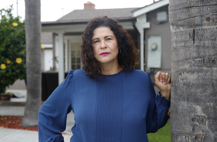 Ada Briceño, chair of the Democratic Party of Orange County.