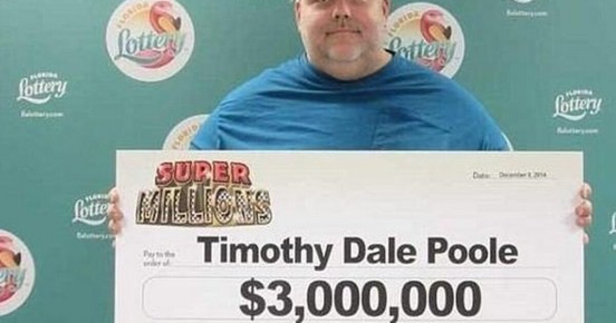 Florida child molester wins $3 million lottery ticket, can