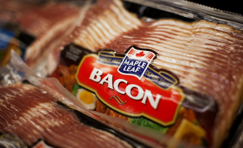 Hold the bacon: Pork bellies aren't being panic purchased like eggs, beef