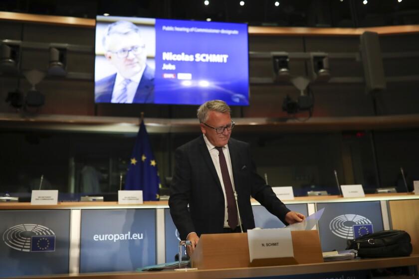 Belgium Europe New Commission