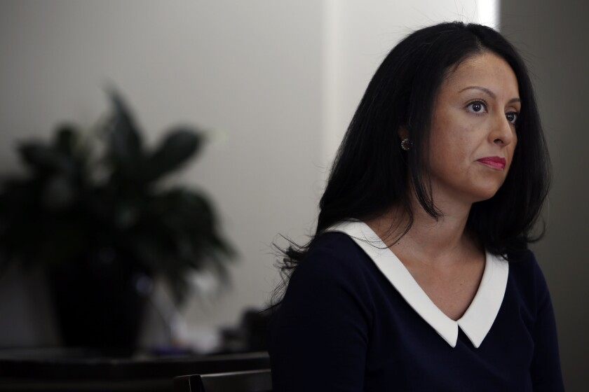 Los Angeles City Councilwoman Nury Martinez in 2014.