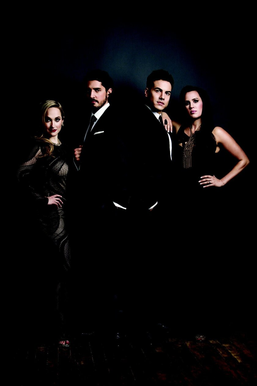 The concert series begins Oct. 9 with famed Canadian vocalists Vivace. Courtesy photo.