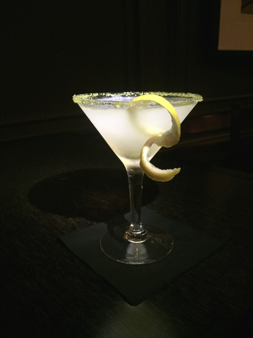 The Lasso of Truth cocktail from The Bristol Hotel. (Courtesy photo)