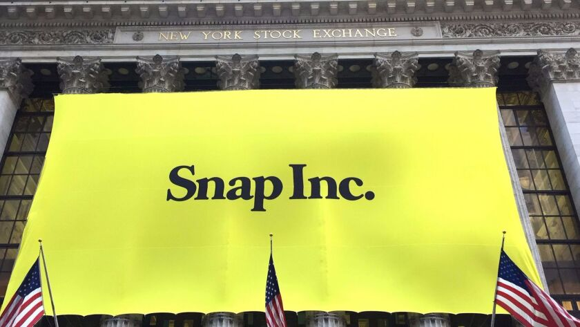 There were winners and losers in Snap Inc.'s debut on Wall Street.