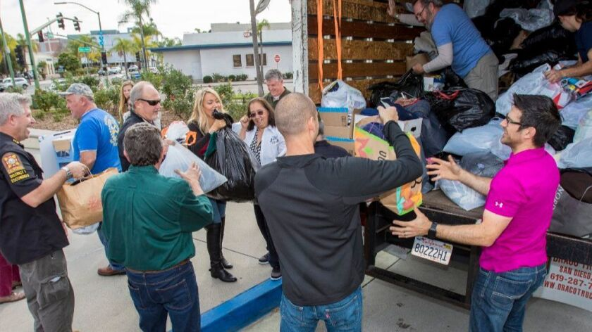 North County clothing drive