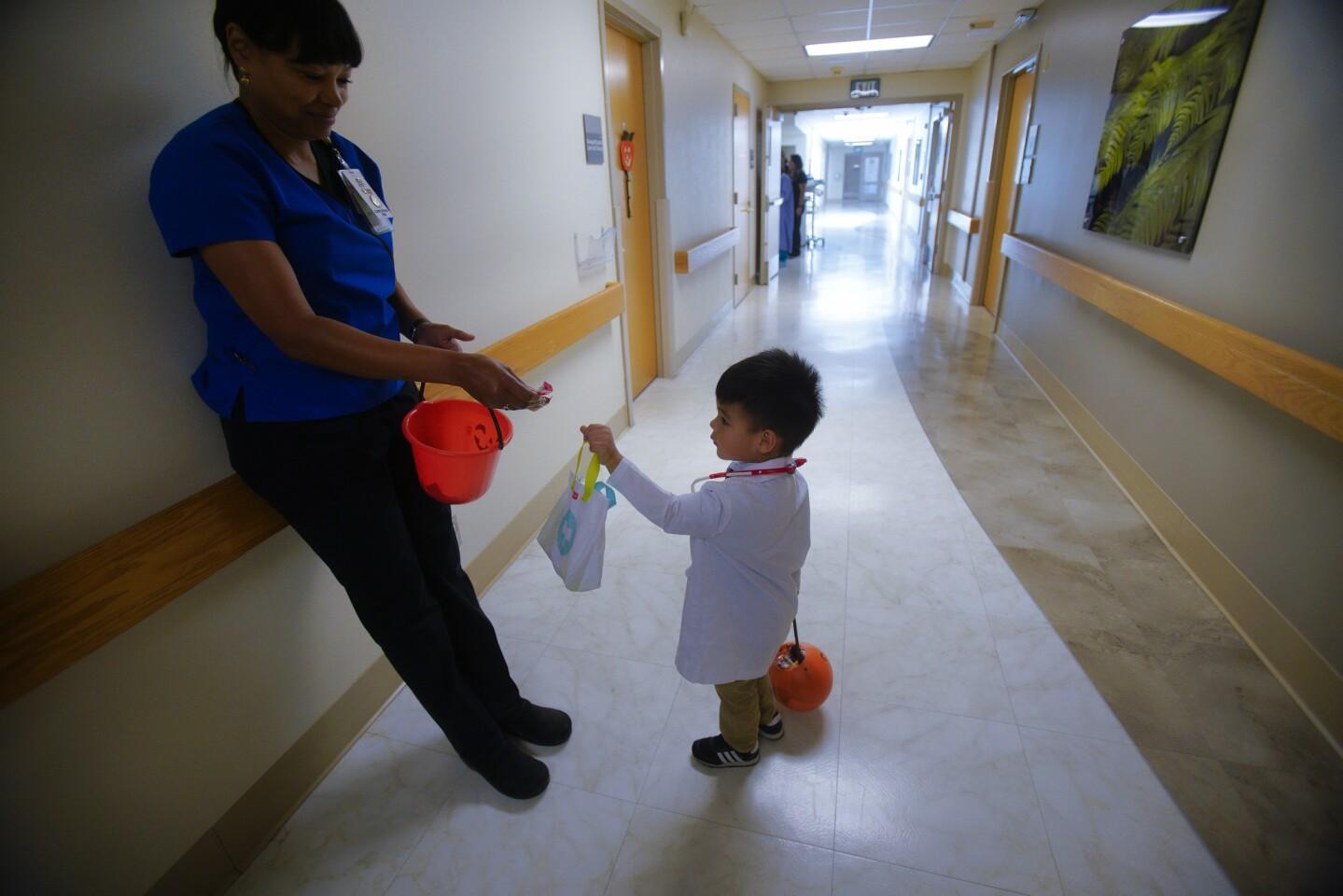 Trick or Treat at Sharp Medical Center