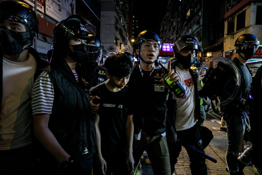 Hong Kong arrest