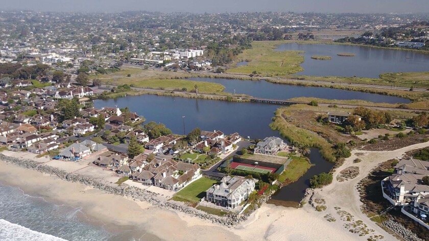 An agreement to allow the removal of the weir at the mouth of the Buena Vista Lagoon on the border of Oceanside and Carlsbad will allow saltwater to circulate in what is now a freshwater lagoon.