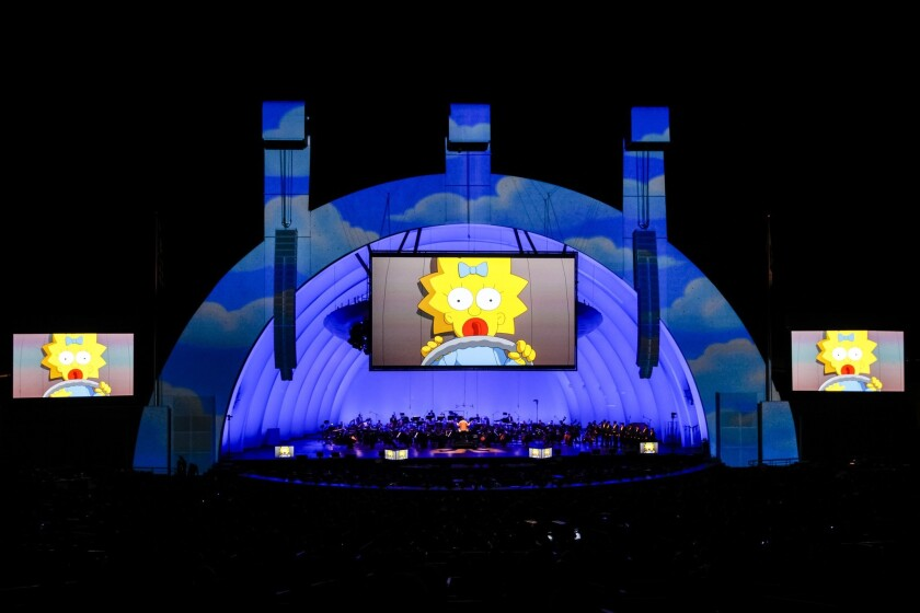 'Simpsons' at the Hollywood Bowl