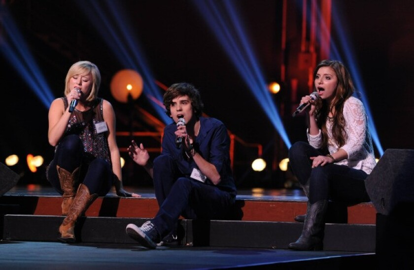 """""""American Idol"""" contestants are put through their paces in Hollywood."""